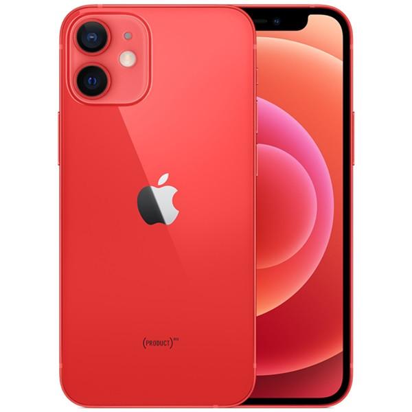 Apple iPhone 12 mini 5G A2399 256GB Red (eSIM) + FREE iPhone 12 mini 9H 2.5D Tempered Glass Screen Protector