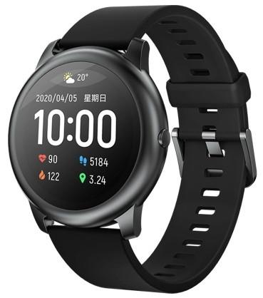 Original Xiaomi Haylou Solar Smart Watch Black