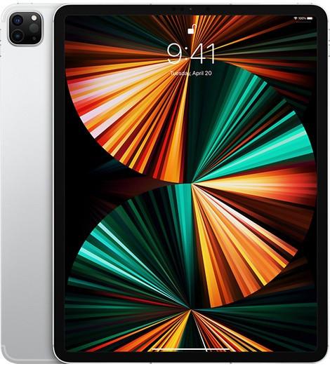 """Apple iPad Pro 12.9"""" (2021) Wifi 256GB Silver (8GB RAM)"""