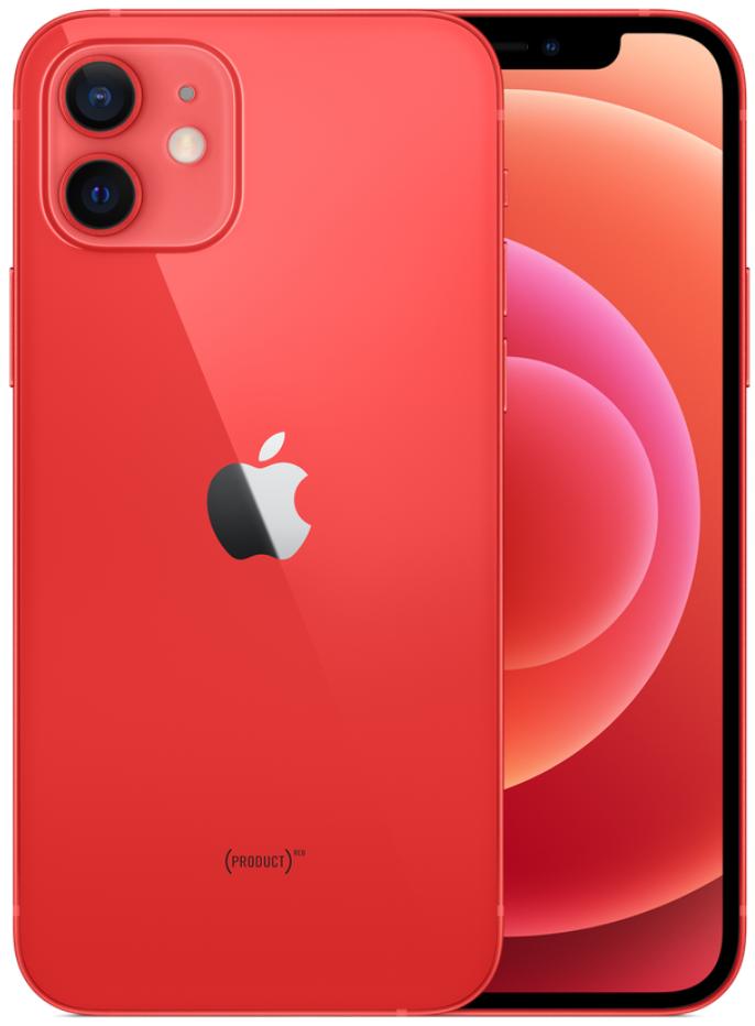 Apple iPhone 12 5G 256GB Red (eSIM)