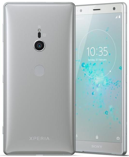 Sony Xperia XZ2 H8296 64GB Silver (6GB RAM) + FREE Sony Phone Case