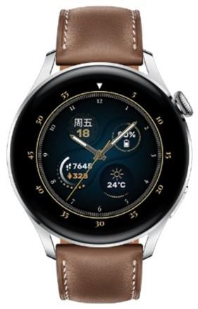 Original Huawei Watch 3 46mm GLL-AL00 Fashion Brown Leather Strap
