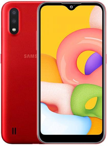 Samsung Galaxy A01 Dual A015FD 16GB Red (2GB RAM)
