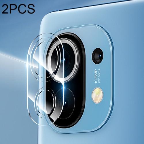 (2 pcs/Set) Benks KR Series 0.15mm Transparent Soft Rear Camera Lens Protective Film for Xiaomi Mi 11