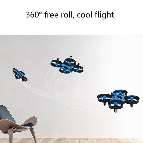 807 2.4G Mini Four-Axis Aircraft Children Toys (Golden) - Version Ordinary