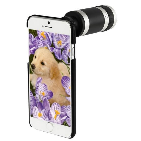 8 X Mobile Phone Telescope for iPhone 6 Plus (Black)