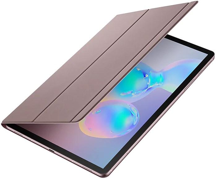 Samsung Galaxy Tab S6 Book Cover Brown