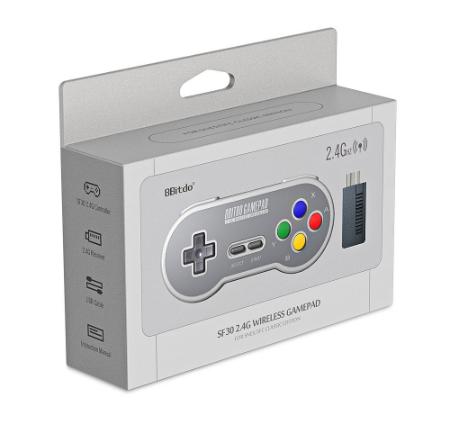 8Bitdo SF30 2.4G Wireless Gamepad Retro Controller